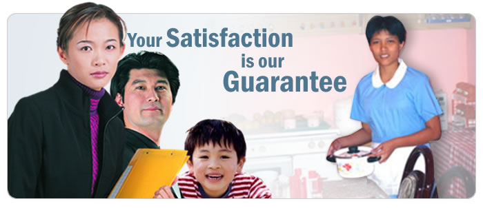 Your Satisfaction is our Guarantee